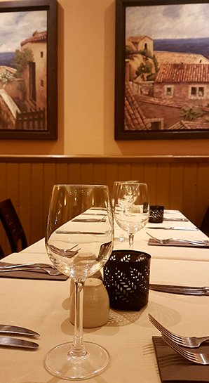 Italian restaurant in Edinburgh