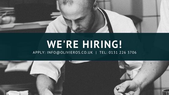 Kitchen Staff Recruitment in Edinburgh